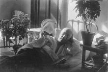 В палате Лермонтовского санатория. 1930 г.
