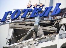 Гостиница «Юность». Фото В. Тенякова. 07 июня 2017 г.