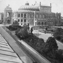 Одесса. Оперный театр. Фото со стереопары 1898 г.