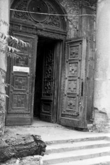 Здание бывшей церкви. Фото А. Дроздовского. Начало 1970-х гг