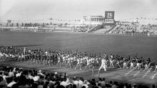 Стадион парка имени Шевченко, 1938 г.