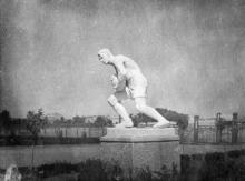 Стадион парка имени Шевченко, начало 1940-х годов