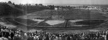 Открытие центрального стадиона «Пищевик», 11 августа 1946 г.