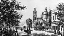 Гравюра 1850-х годов
