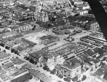 Центр Одессы. Авиасъемка английского информагентства. 23 июля 1941 г.