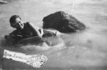 Пляж Ланжерон. Одесса. 1938 г.