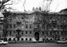 Одесса. Дом № 66 по ул. Ф. Меринга. 1980-е гг.