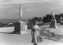 Стадион «Пищевик». 1951 г.