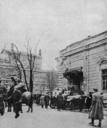 Улица Ланжероновская, фото из газеты, 1920 год
