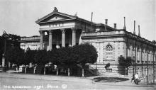 Ист. археологический музей. Одесса. Фотооткрытка. 1930-е гг.