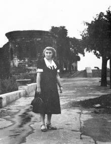В парке им. Шевченко. Начало 1950-х гг.