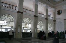 Одесский вокзал. Фото В. Тенякова. 24 ноября 2015 г.