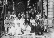 Санаторий Петровского. Одесcа, Куяльник, 1931 г.