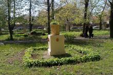 На территории института им. Филатова. Фото Евы Красновой. 24 апреля 2017 г.