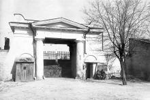 Въезд на Старое Христианское кладбище, 1930-е годы