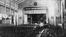 Театр на Куяльницком лимане. Фото в книге «Одесские городские лиманы» д-ра Е.М. Брусиловского