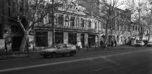 Улица Ленина (Ришельевская), кинотеатр им. Короленко, 1985 г.