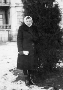 Одесса. Санаторий № 4 в Люстдорфе. Январь, 1950 г.