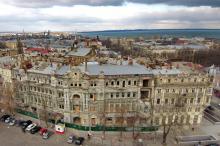 Дом Русова и дом Либмана. Фото Александра Вельможко. 13 января 2018 г.