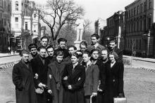 Памятник Сталину в сквере у  Политехнический института. 1950-е гг.