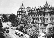 Улица Садовая. Фотография в фотогармошке «Одесса». 1962 г.