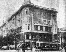 Ул. Ришельевская угол ул. Дерибасовской, 1912 г.