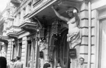 Одесса. Вход в гостиницу «Красная». Конец 1970-х гг.