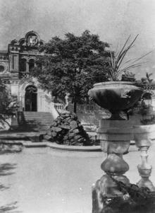 Одеса. Курорт. Грязьова лікарня. Фото Б. Левіта. Поштова картка. 1940 р.