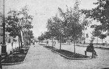 На бульваре Фельдмана, Почтовая карточка. 1920-е гг.