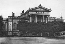 Одесса. Археологический музей. Почтовая карточка. 1930-е гг.