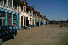 Рынок «Привоз» со стороны Преображенской. Фото Александра Баулина. Одесса, 28 марта 2008 г.