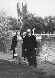 В парке «Победа». 1950-е гг.