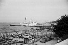 Отрада, судно «Экватор». 1987 г. Фото Николая Супика. 1987 г.