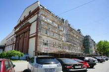 Ремонт дома по Дерибасовской, 10 (Ришельевская, 3). Фото В. Тенякова. 06 июня 2017 г.