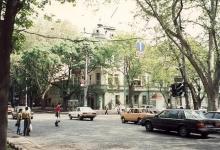 Пушкинская угол Большой Арнаутской, фотография 1996 г.