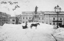 Памятник Екатерине II. Одесса. 1906 г.