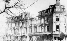 Дом во время ремонта. Фото В.Н. Рачинского. Конец 1980-х гг.