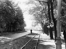 Одесса. Пролетарский бульвар. 1960-е гг.