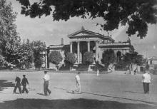 Одеса. Історично-археологічний музей. Фото Б. Левіта. Поштова картка. 1938 р.