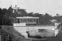Мост через ул. Рыбачью на 16-й станции Большого Фонтана