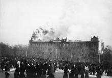 Пожар в Пассаже, фотография 31 октября 1901 г.