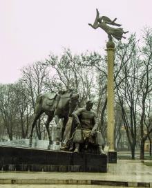 Памятник атаману Головатому. Фото О. Владимирского. 2005 г.