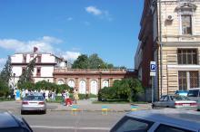 Дом № 3 по Ришельевской улице (№ 10 по Дерибасовской). Фото Марины Мовчан. 2003 г.
