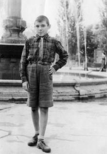 В пионерлагере канатного завода. 1957 г.