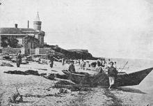 Одесса. Люстдорф. Почтовая карточка. 1920-е гг.