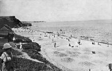 Одесса. Люстдорф. Пляж. Почтовая карточка