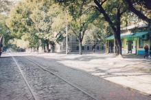 Колонтаевская угол Ризовской. Фото А.В. Валейно. 23 октября 2005 г.