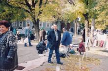 Ленинградская угол Серова. Фото А.В. Валейно. 23 октября 2005 г.
