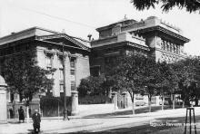 Одесса. Научная библиотека. Фотооткрытка. На обороте штамп «Поштова картка». 1930-е гг.
