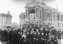 Оперный театр. Одесса. 1954 г.